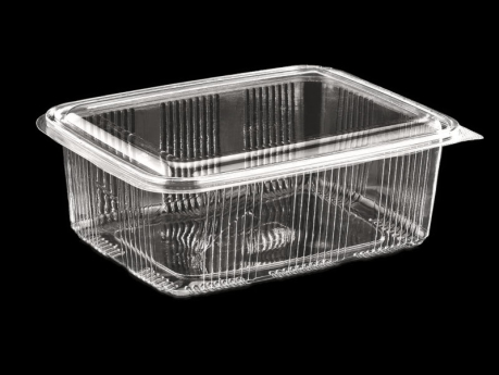 1750 ml Luxury Food Container With Hinged Lid