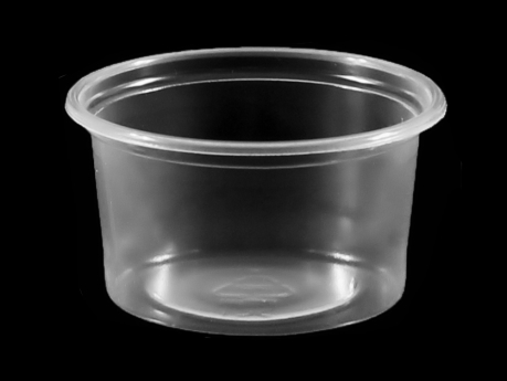 Sauce Bowl, PP, Ø71 mm, 80 cc, Transparent