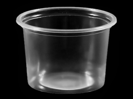 Sauce Bowl, PP, Ø71 mm, 100 cc, Transparent